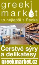 Greek Market - to nejlepší z Řecka - sýry, delikatesy
