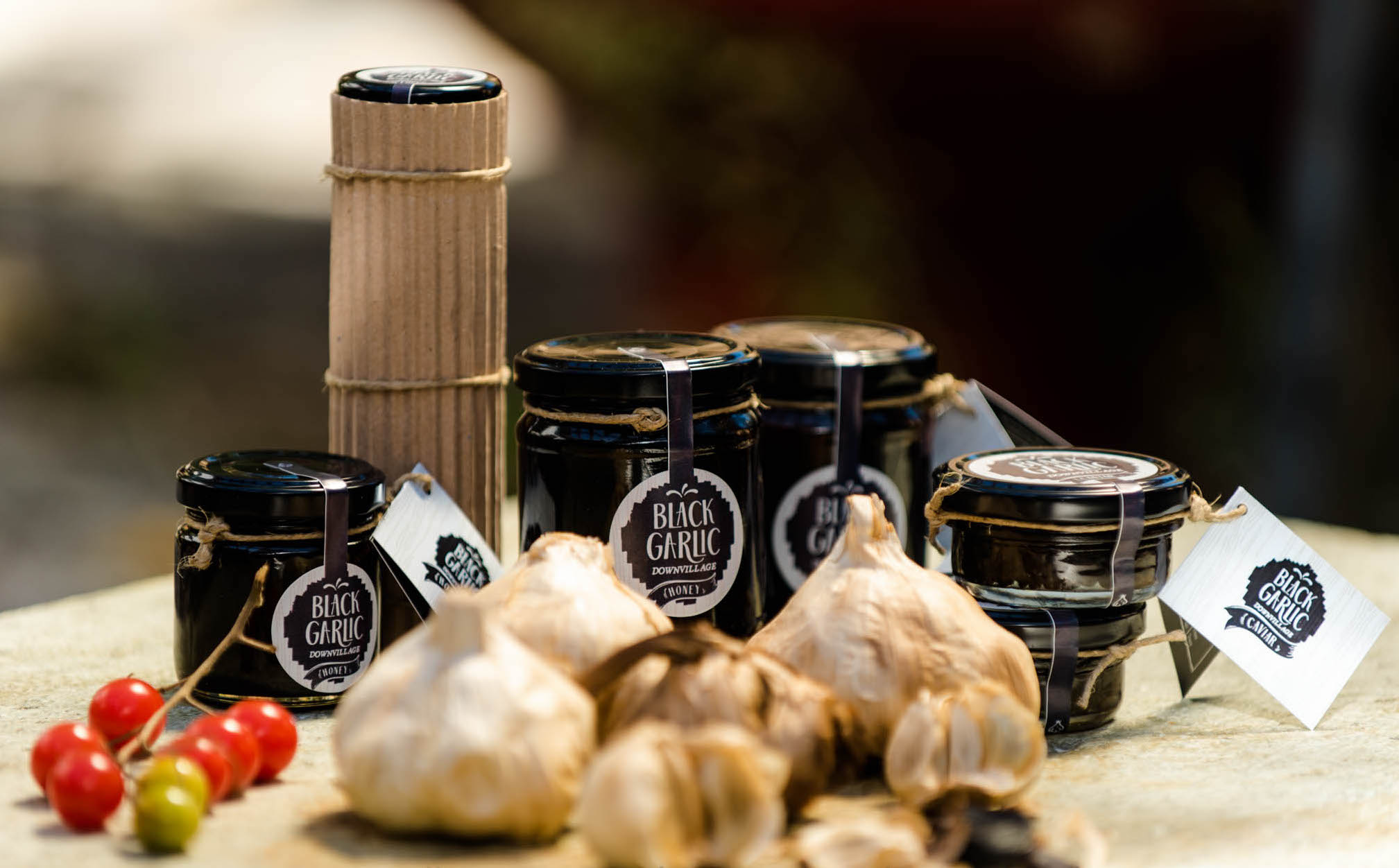 Black garlic downvillage produkty